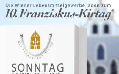 10. Franziskus Kirtag der Wiener Lebensmittelgewerbe